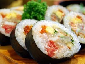 海鮮生巻寿司