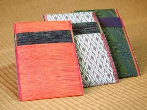 畳の縁カードケース
