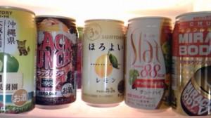 ☆チューハイtoお菓子de乾杯☆