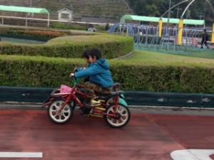 広島市交通科学館の自転車で遊ぶの巻!!