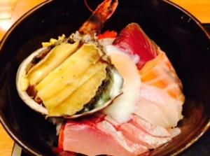 久々の海鮮丼!!by鶏人
